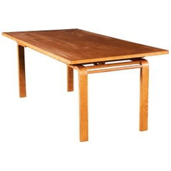 Camel Dining or Coffee Table by Richard Neutra