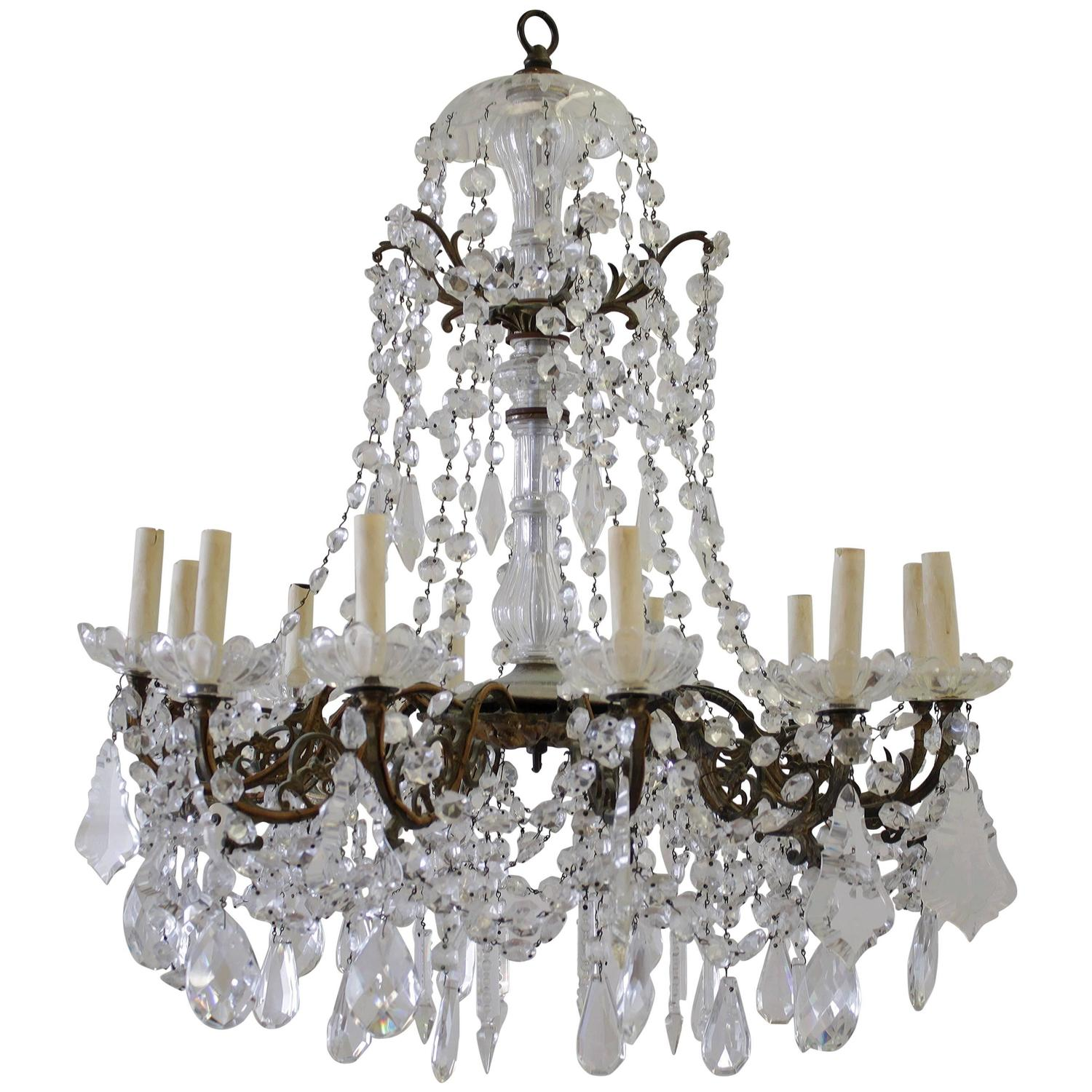 antique bronze and chandelier at 1stdibs