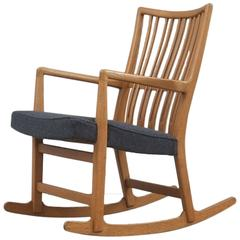 Hans Wegner ML 33 Rocking Chair