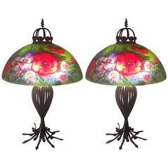 Matching Pair of Signed Ulla Darni Table Lamps