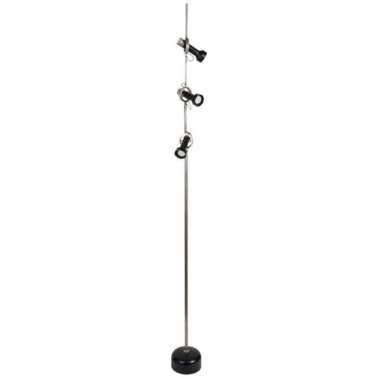 Rare Model 1076 Trittico Floor Lamp by Angelo Lelli for Arredoluce