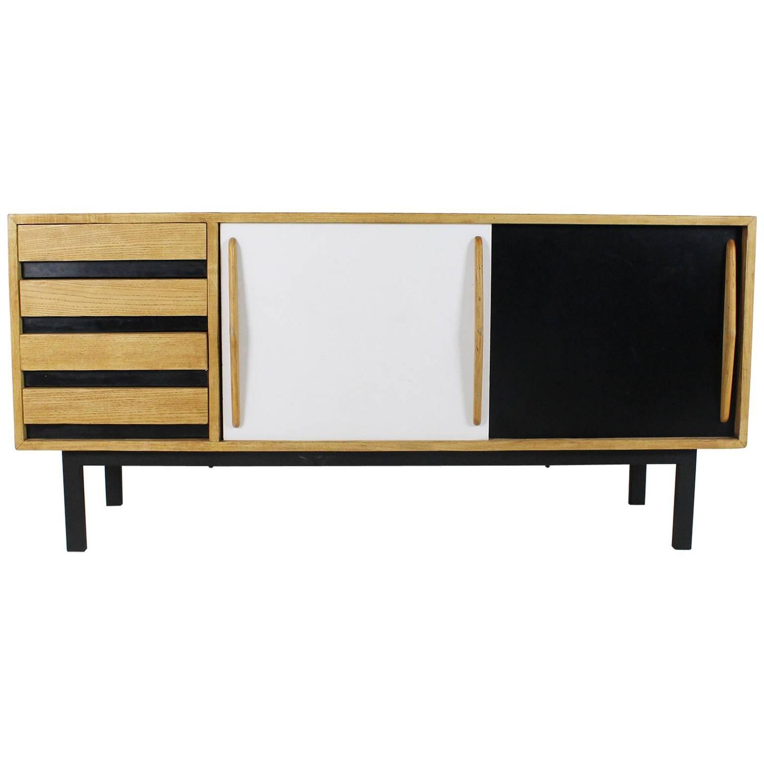 Sideboard By Charlotte Perriand Cansado Model For Steph Simon 1958 For Sale At 1stdibs