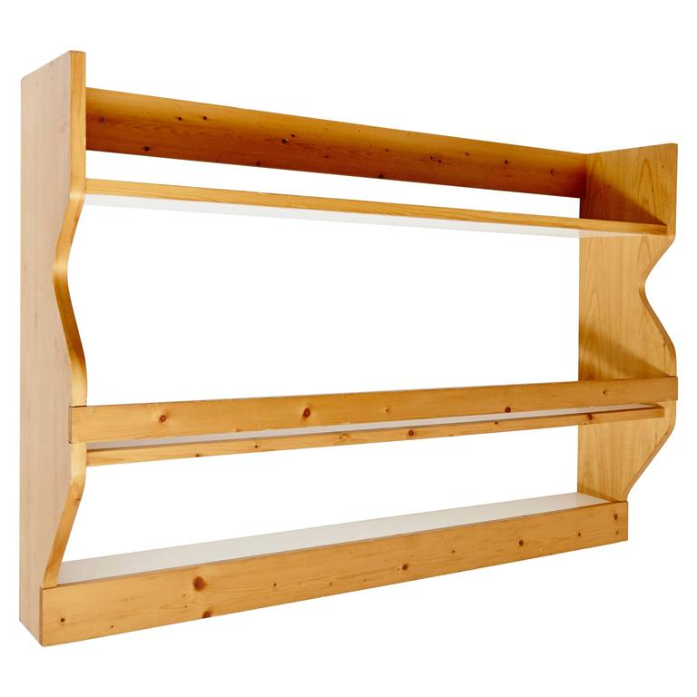 Charlotte Perriand Shelves for Les Arcs