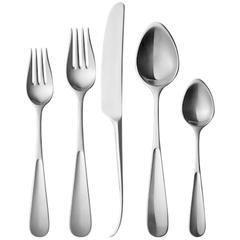 New Vivianna Georg Jensen Stainless Steel Flatware Set for 12 Service 60 pcs