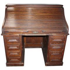 Late 19th Century Gunn Furniture Co Roll Top Desk