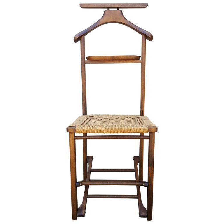 Fratelli Reguitti Folding Italian Valet Chair For Sale - Fratelli Reguitti Folding Italian Valet Chair At 1stdibs
