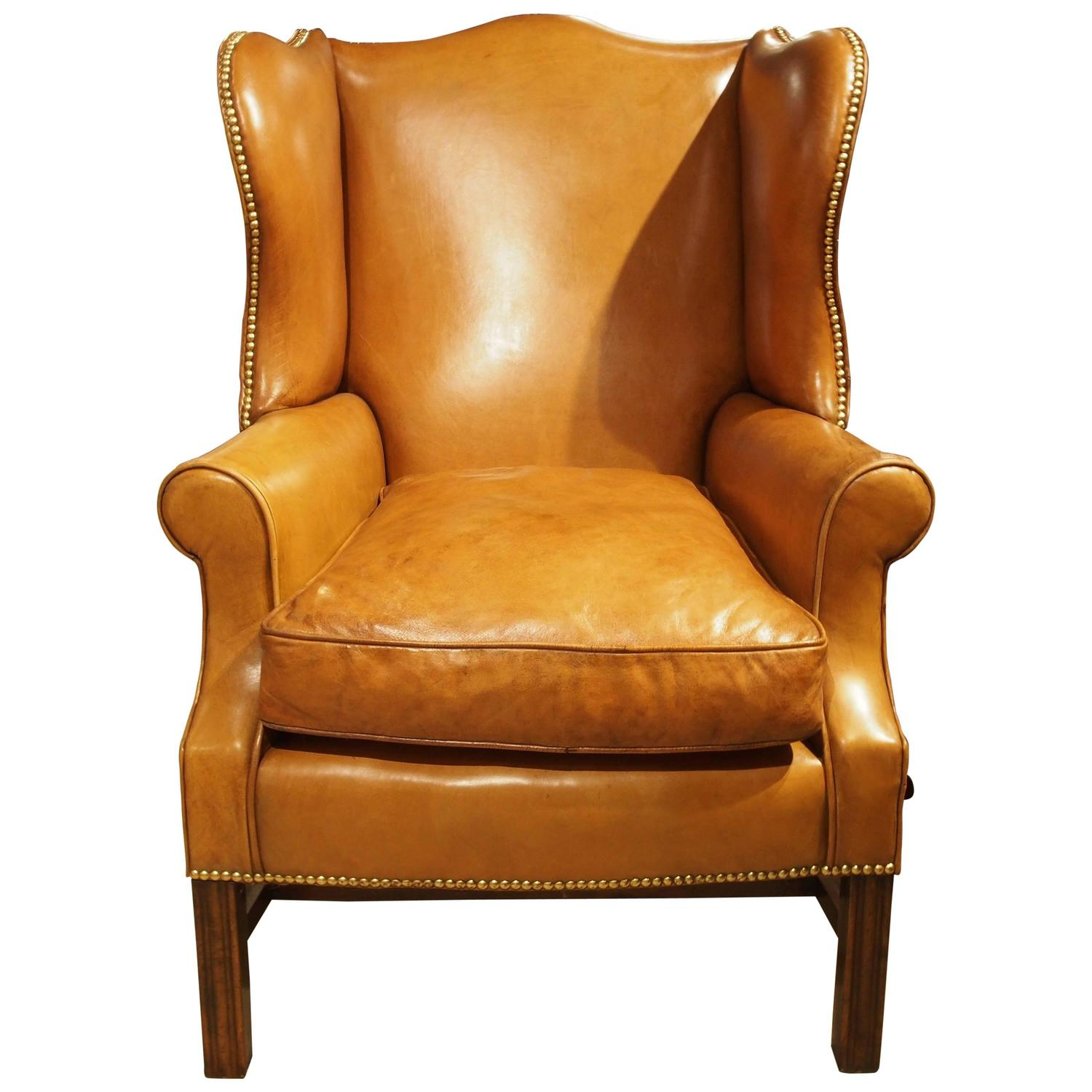 Sudbury Wing Chair For Sale at 1stdibs