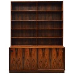Mid-Century Modern Danish Rosewood Bookcase