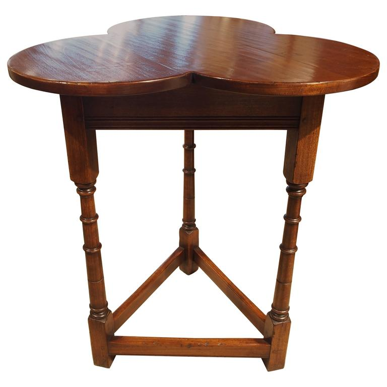 Clover Leaf Pub Table At 1stdibs