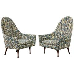 Pair of Paul McCobb for Widdicomb Symmetric Lounge Chairs