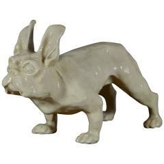 Art Deco Ceramic French Bulldog