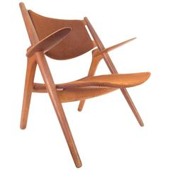 Danish Sawback Chair by Hans J. Wegner