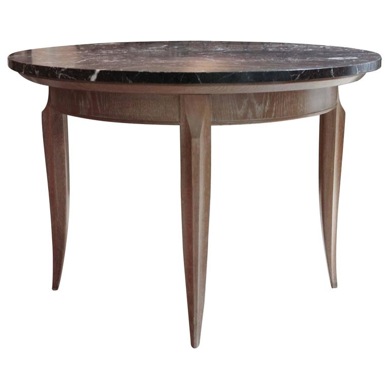 White Oak and Marble Centre Table at 1stdibs : 4861563l from www.1stdibs.com size 768 x 768 jpeg 26kB