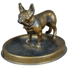Demley French Bulldog Dog Lighter on Base