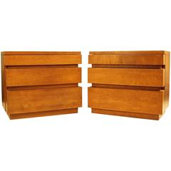 Pair of Small Dressers Designed by Dan Johnson, 1947