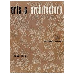 """1944 """"Arts & Architecture"""" Magazine Cover by Ray Eames"""