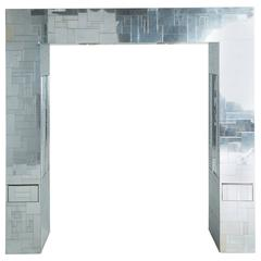 Illuminated Headboard by Paul Evans, Cityscape Collection, Queen