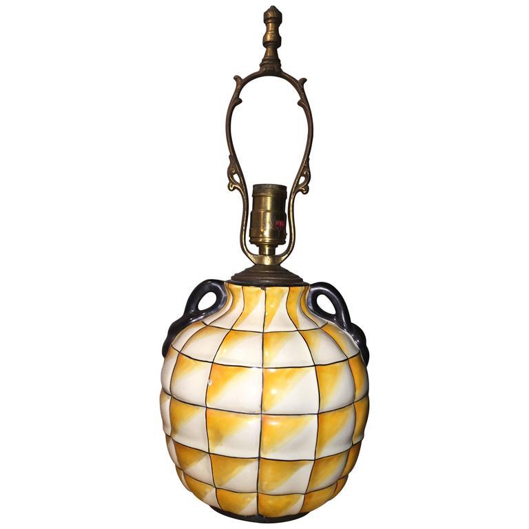 Gio Ponti Lamp for Ginori For Sale