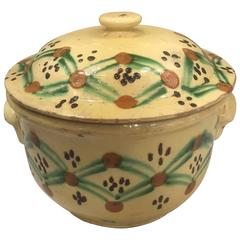 19th Century French Pottery Tureen