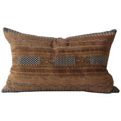 Bronze Stripe Huang Ping Textile Cushion
