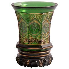 Biedermeier Glass Goblet