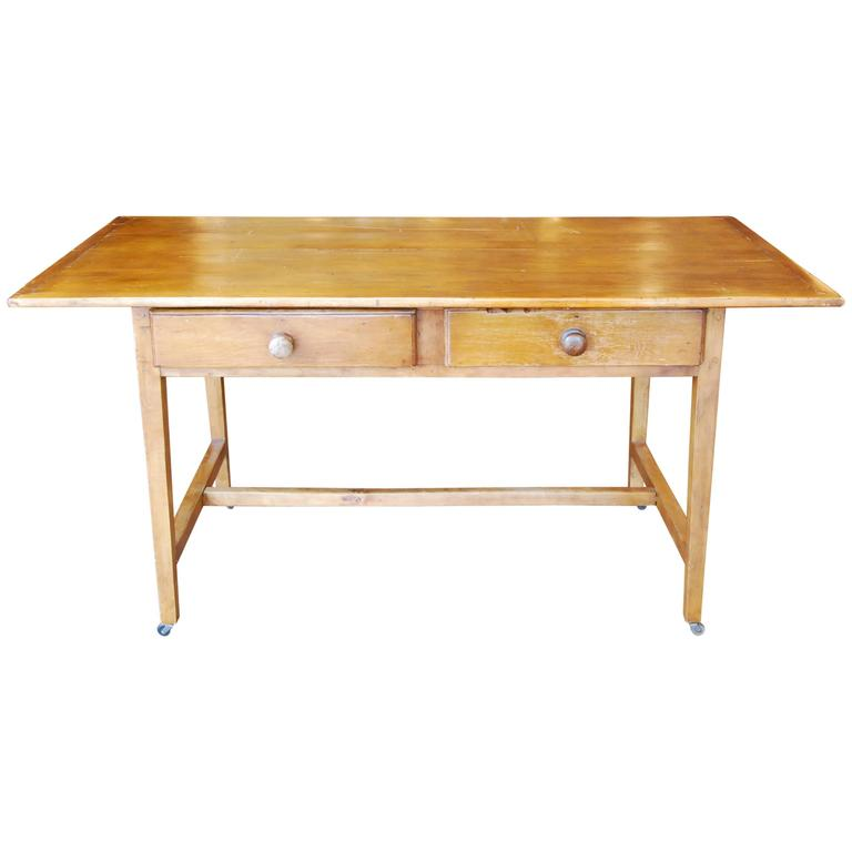 1860 Pine Dining Table or Desk
