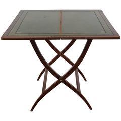 19th Century English Mahogany Coaching Table