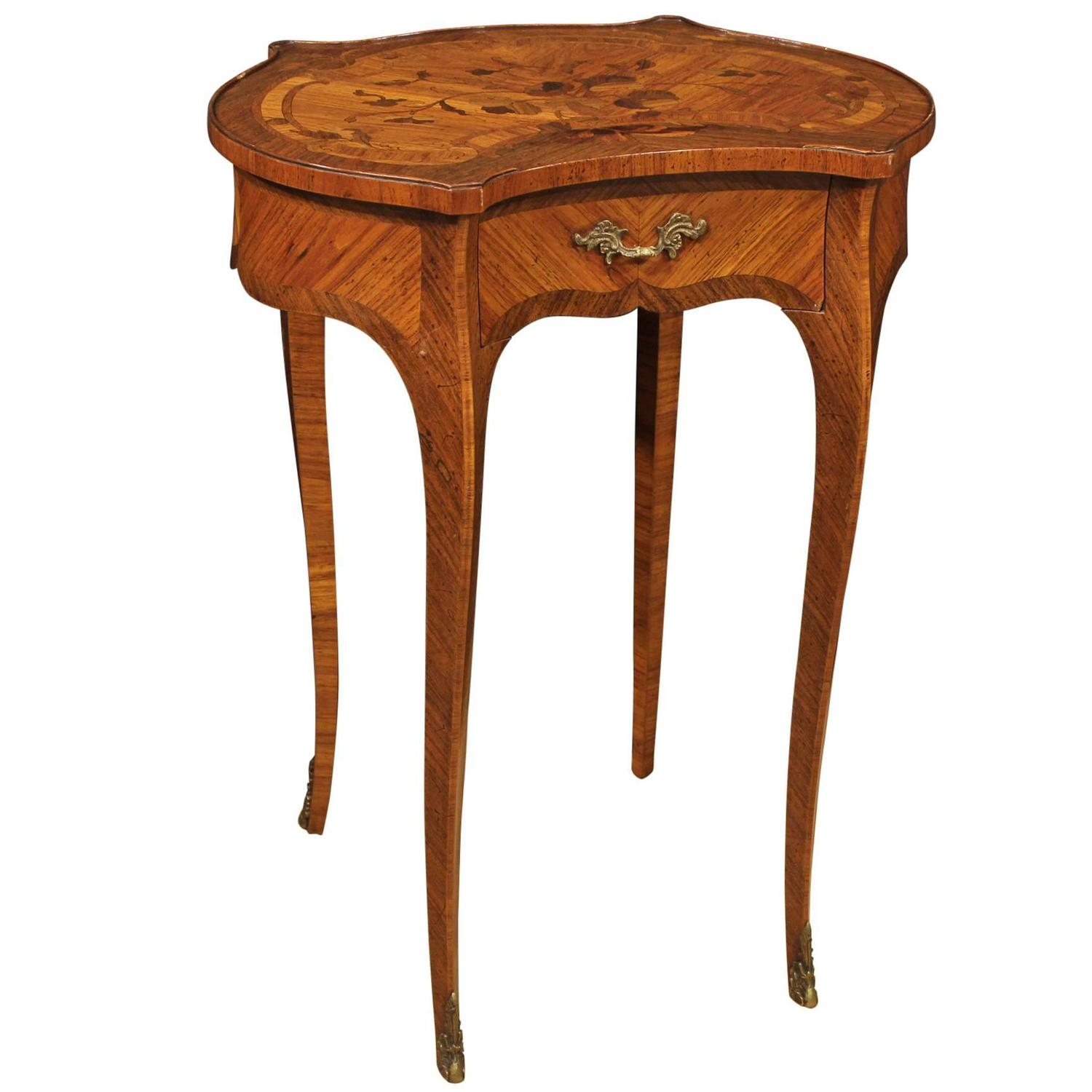 20th Century French Inlaid Coffee Table At 1stdibs