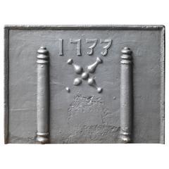 18th Century Pillars Fireback