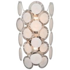 Murano Glass Disc Sconce