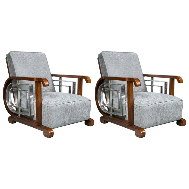 Set Of Ten Mid Century Modern Art Deco Style Lounge Theater Chairs For Sale