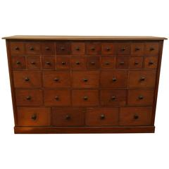 34-Drawer Apothecary