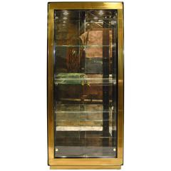 Mastercraft Black Lacquered and Patinated Bronze Cabinet For Sale ...