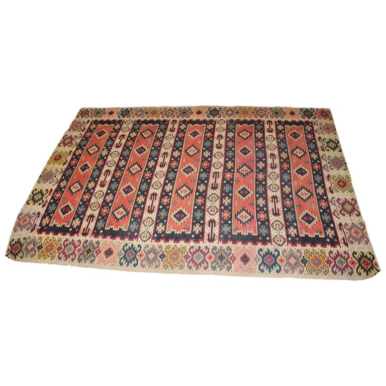 Turkish Kilim from Balkan For Sale