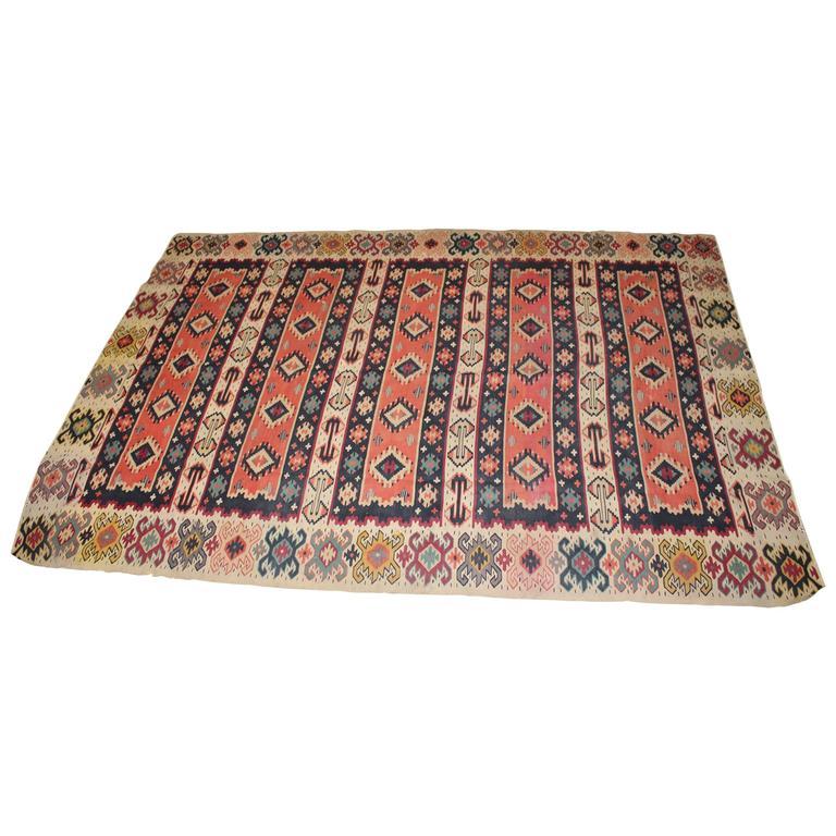 Turkish Kilim from Balkan