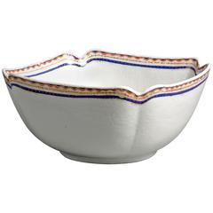 Late 18th Century Square Porcelain Bowl
