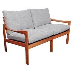 Illum Wikkelsø Teak Sofa