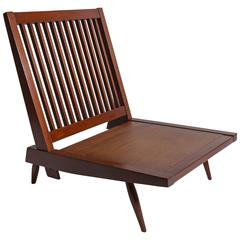 George Nakashima Studios Walnut Lounge Chair