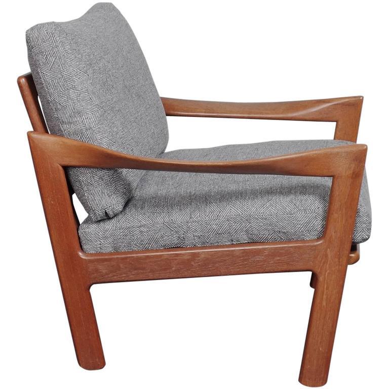 Illum Wikkelsø Teak Lounge Chair at 1stdibs