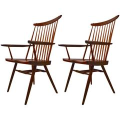 Pair of Nakashima New Chairs