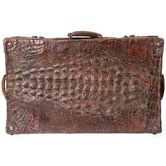 Crocodile Old Suitcase