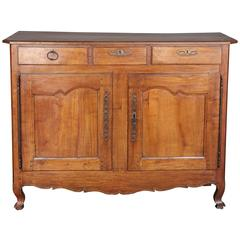Antique 19th Century Fruitwood Louis XV Buffet