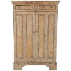 Antique 19th Century Primitive Irish Cabinet