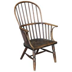 Antique 18th Century Windsor Stick Chair