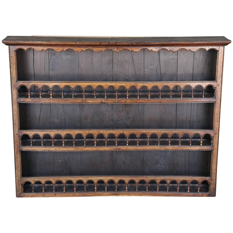 Antique 18th Century Walnut Plate Rack At 1stdibs