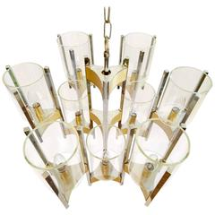 Sciolari Hurricane Chandelier with Nine Lights
