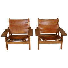 Pair of Erling Jessen Hunting Chairs