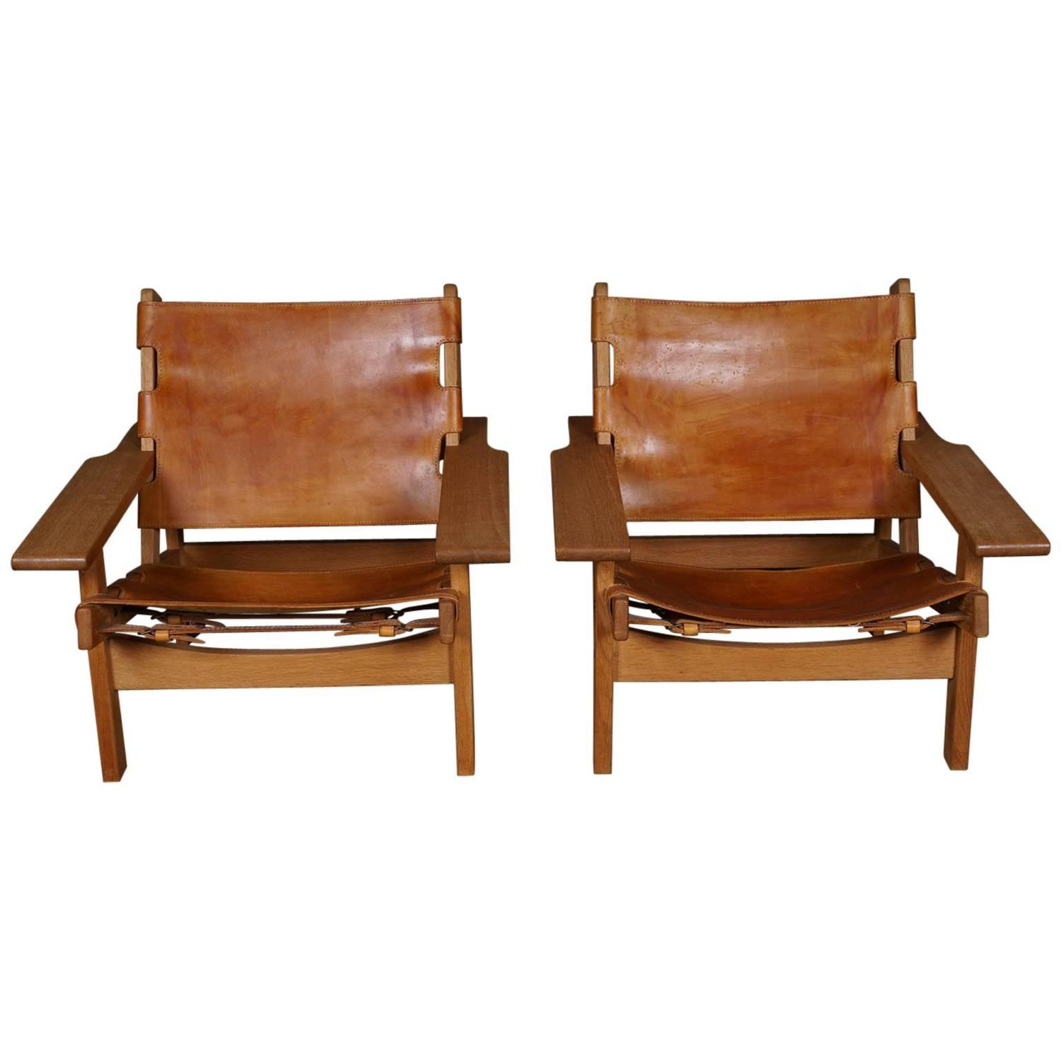 Pair of Erling Jessen Hunting Chairs at 1stdibs