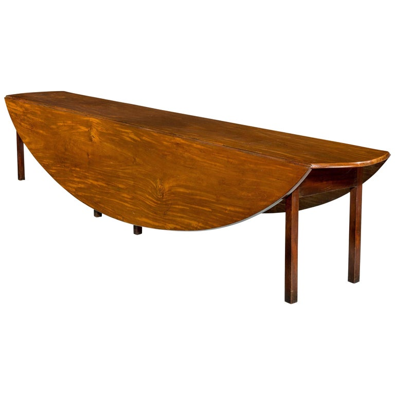 George III Period Hunt Table For Sale