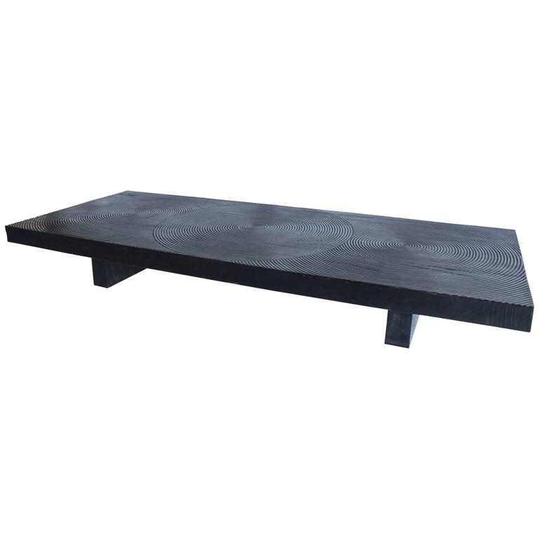 20th century african blackwood coffee table at 1stdibs African coffee tables
